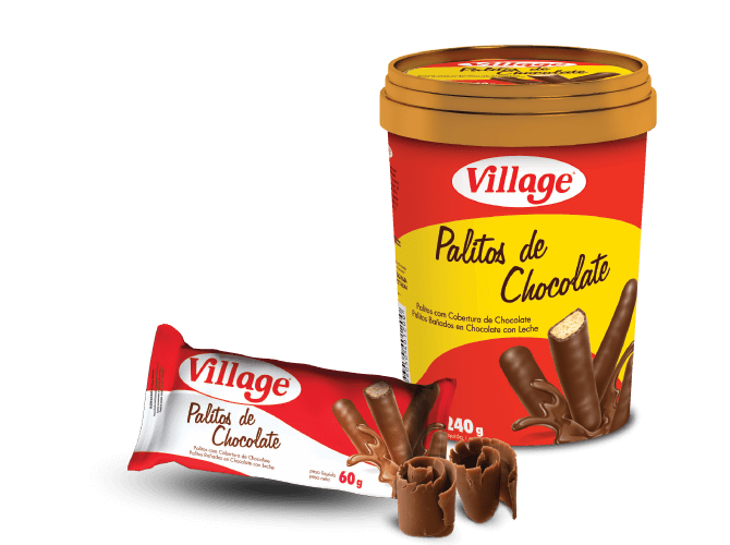 Palitos de Chocolate Village