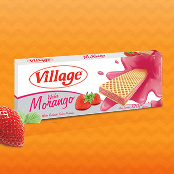 Wafer de Morango